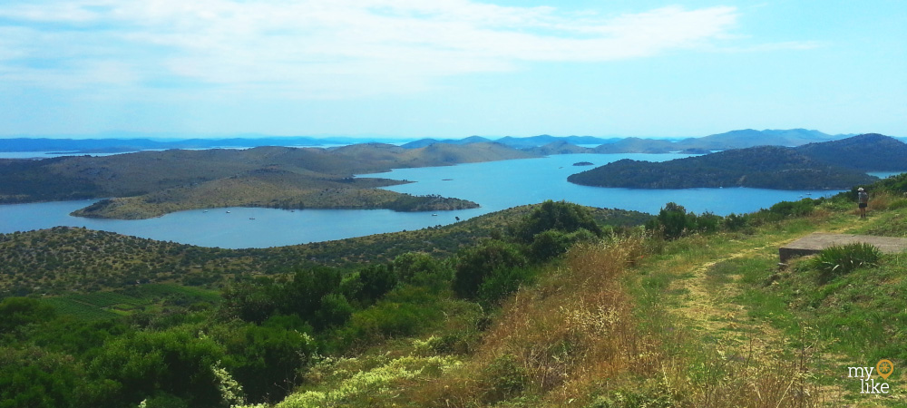 Salt Lake on Dugi Otok
