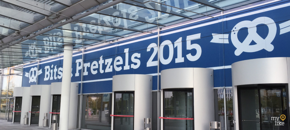 myLike at Bits & Pretzels 2015