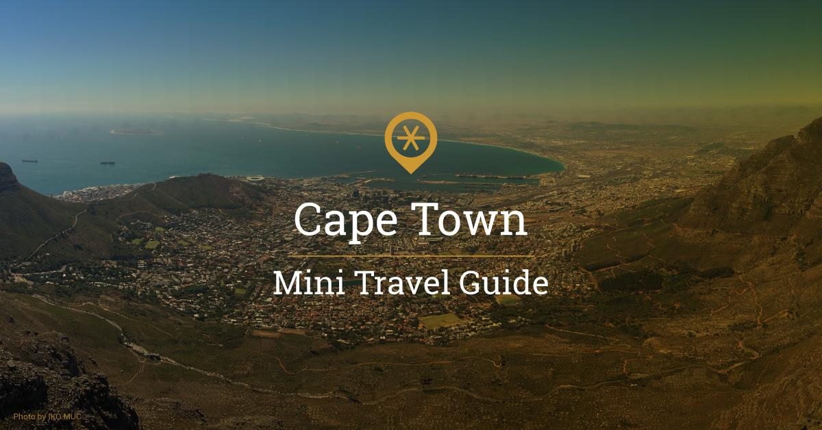myLike - Cape Town - Mini Travel Guide