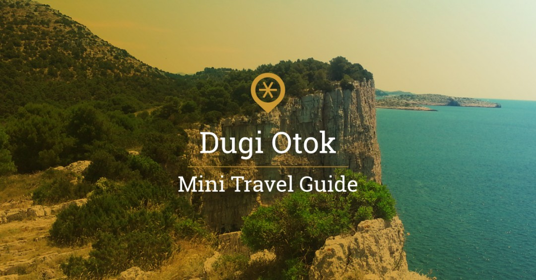 West coast of Dugi Otok Croatia
