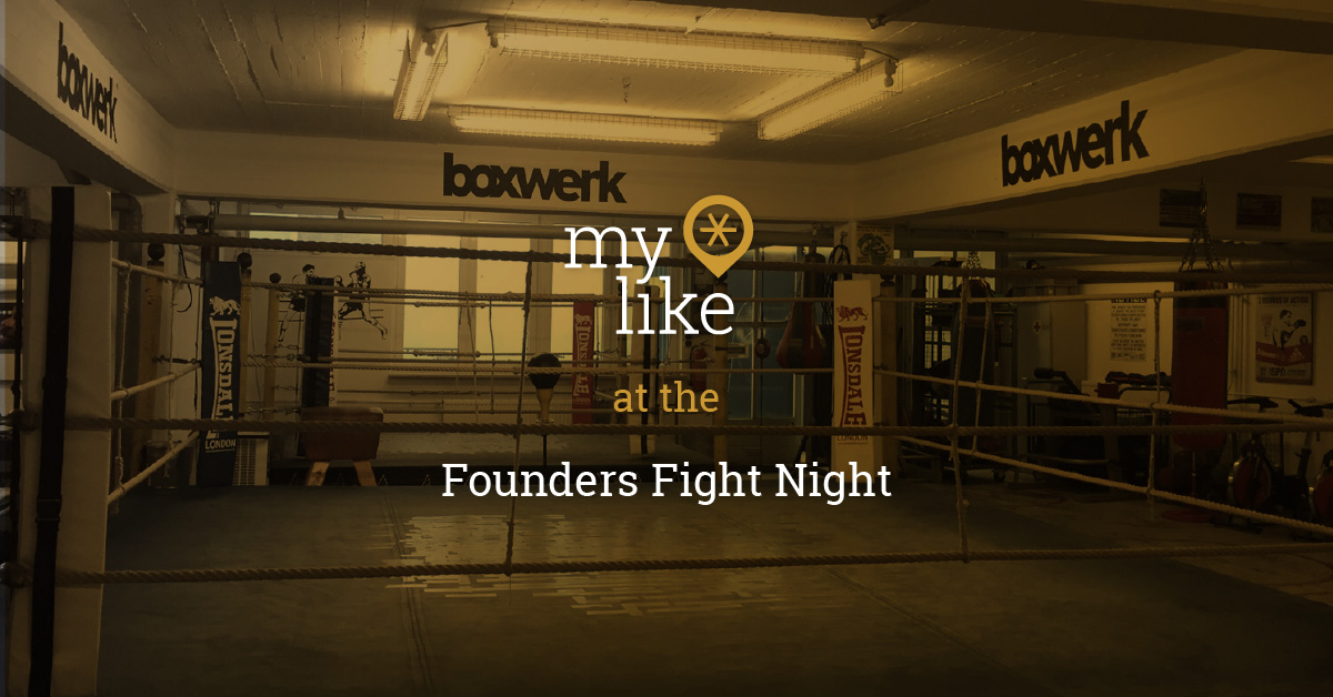 myLike at the Founders Fight Night