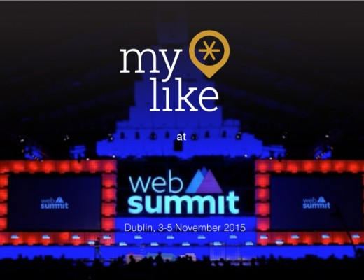 myLike at Web Summit 2015, Dublin