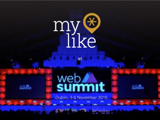 myLike at Web Summit 2015, Dublin