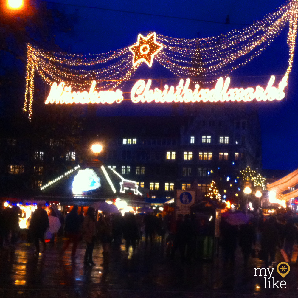 myLike of the Day - Christkindlmarkt Munich