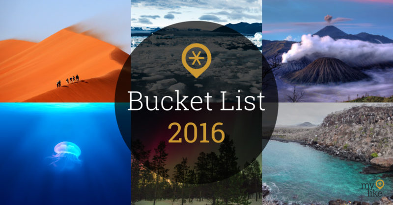 Travel Bucket List 2016