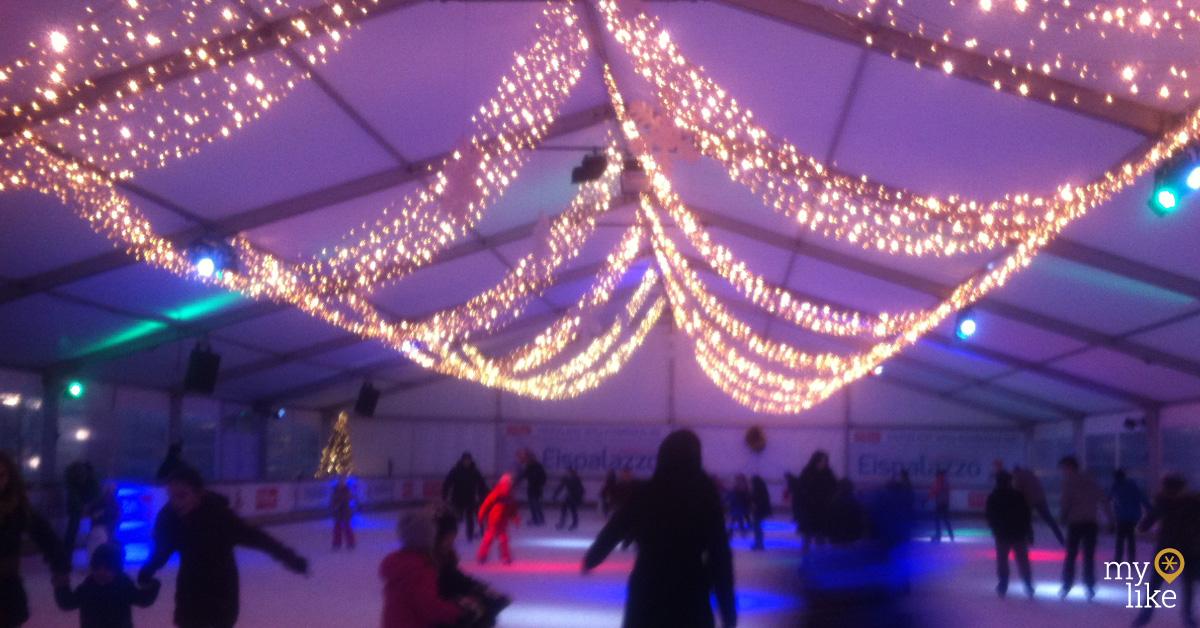 myLike - Ice Skating Munich - Eispalazzo Höffner