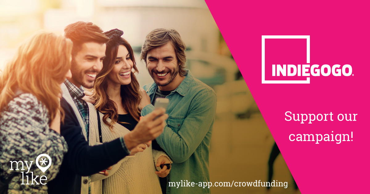 myLike on Indiegogo!