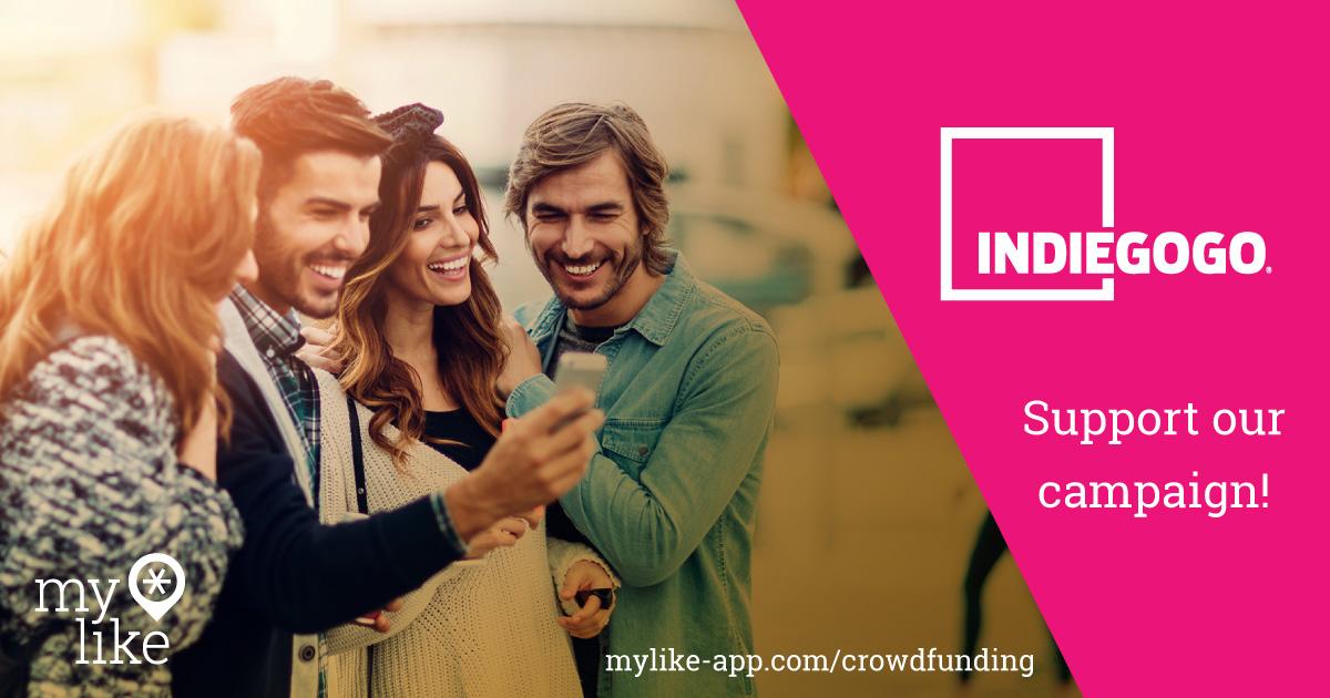 myLike on Indiegogo!