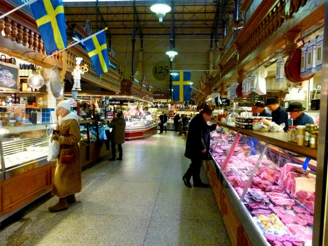 Stockholm on a budget - Ostermalm saluhall