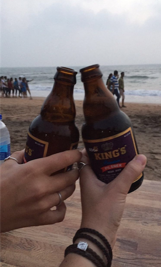 Goan Beer - Where You Can Find a $10 Three-course Meal for Two, in Goa