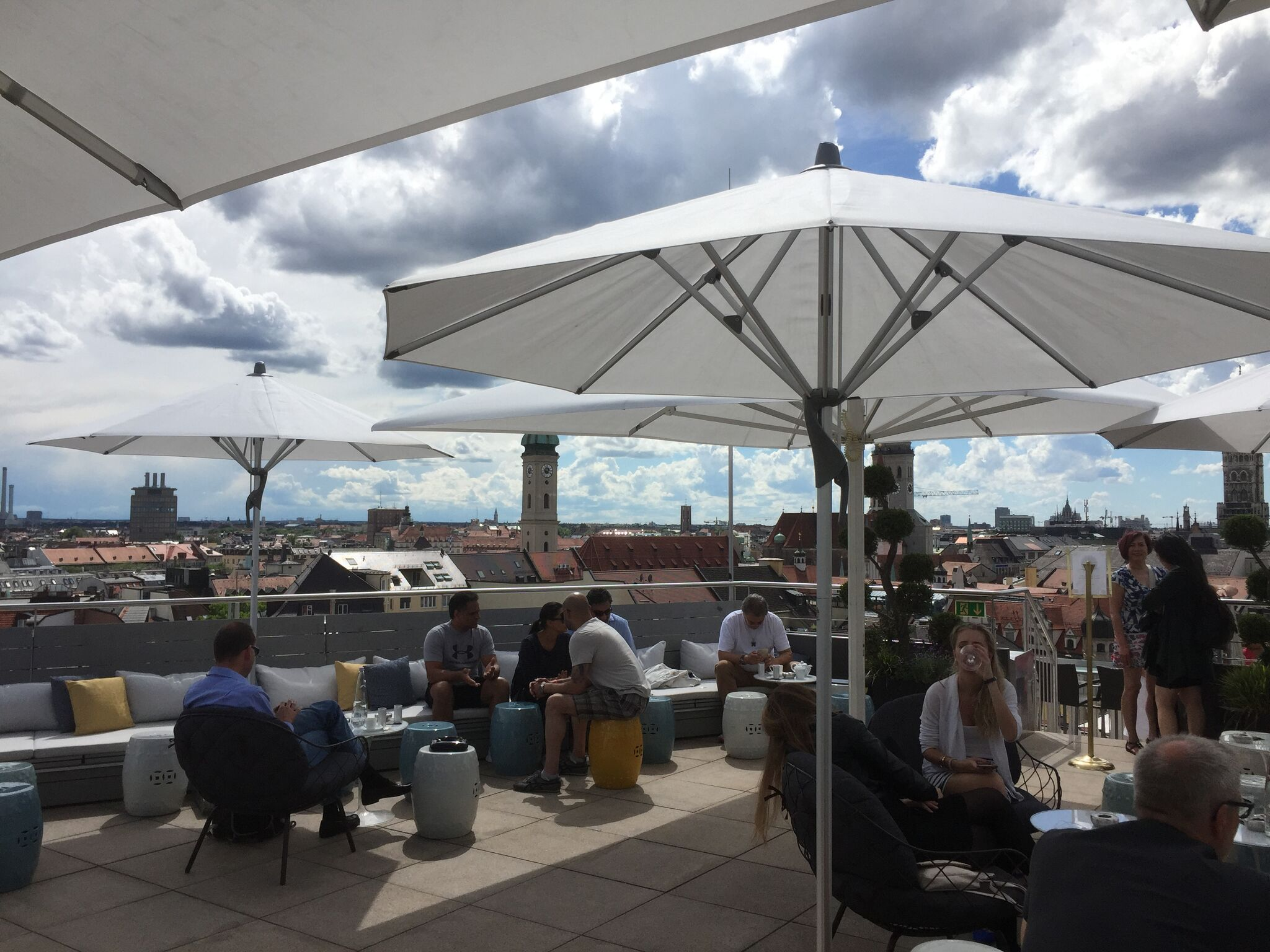 Best Outdoor Bars and Rooftops for a Drink in Munich