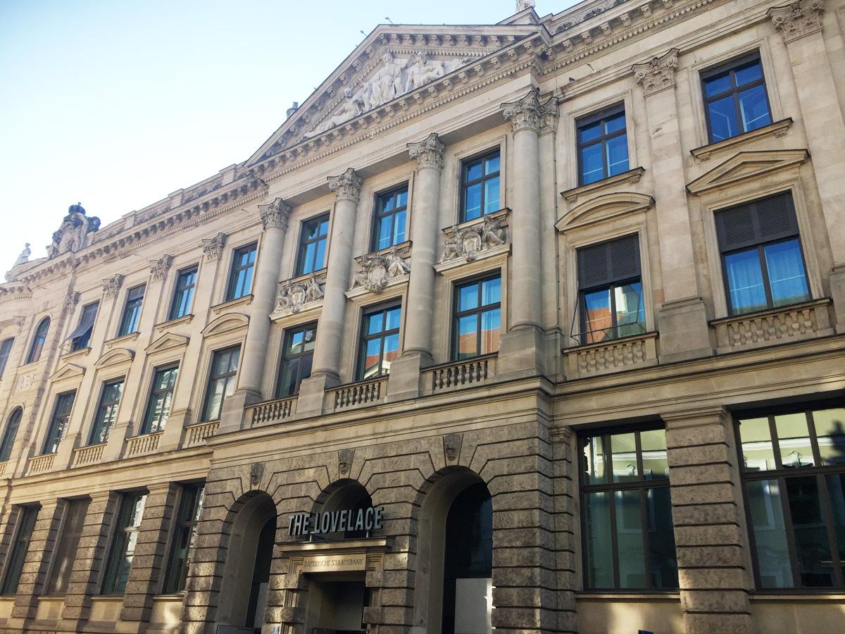 Fassade of The Lovelace Munich