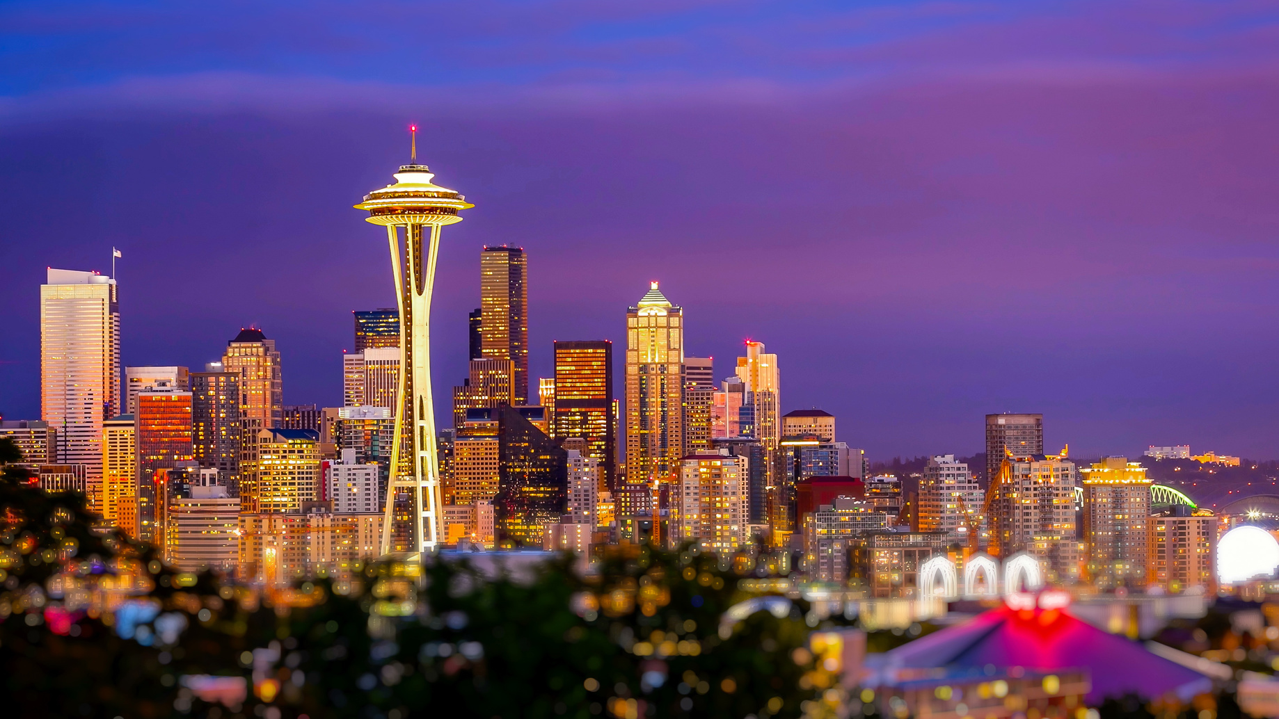 Seattle Skyline 1024x576 - Top 5 Places to Visit on Your Next Seattle Visit